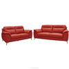 High quality modern half leather comfortable recliner sofa elegant living room sofa set Malaysian manufacturer NF9425