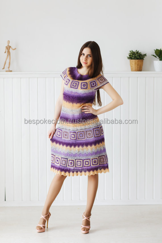 Stylish Crochet Dress for Girls Women Ladies The Best Design 2015