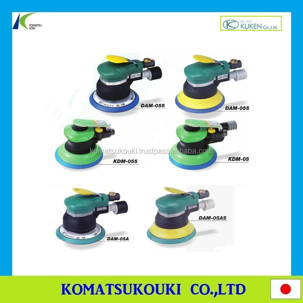 Professional Japan KUKEN air tools Dual actioin sander, fastening/sanding/polishing and grinding tools also available