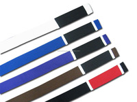 Best Product of Master Colourful martial arts karate belts in all type/Chinese Fancy taekwondo master belts