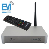 ZaapTV HD509N Full HD 1080 WebTV Player for Arabic, Turkish, Greek, Persian TV channels and more Subscription Free IPTV
