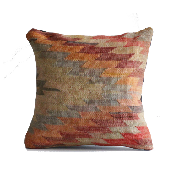 Kilim Pillow Cover Handmade in Turkey