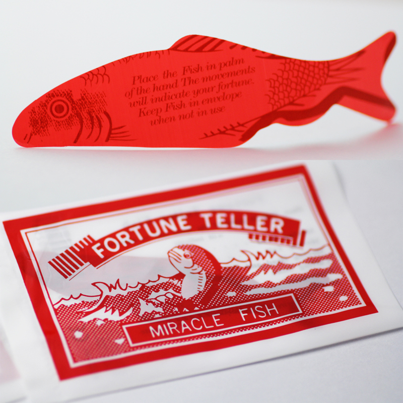 Fortune Teller Miracle Fish Magic Auto-bending Fish