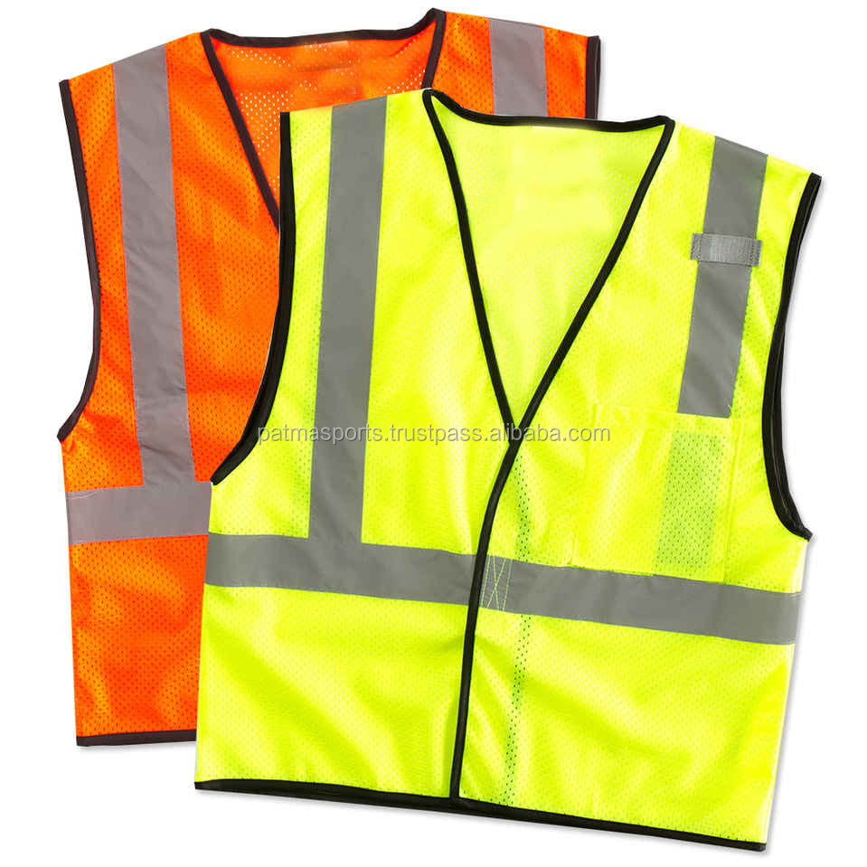 Best Selling Model Red Color Manufacturer Reflective Safety Vest