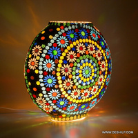 gifts Mosaic Glass Lamp Art Shade
