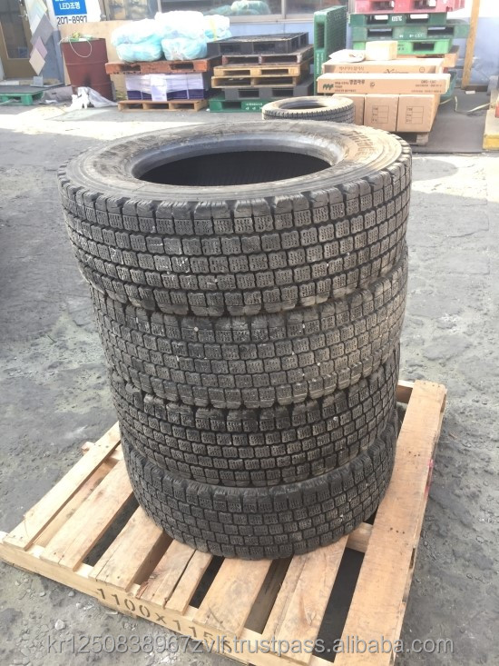 Used Japanese Tire Brands Airless Tire for OTR(Off-The-Road), Dump/Trash Truck, Passenger Car