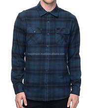 Flannel Shirt - OEM wholesale cheap flannel warm plaid style mens heavy cotton shirts