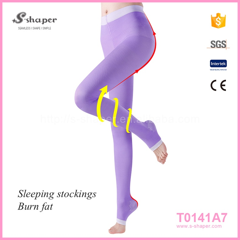 S - SHAPER Compression Stockings Varicose Veins Sleep Stockings T0141A7