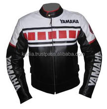 Racing Yamaha Motorbike Leather Jacket