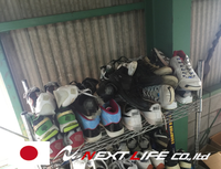 Easy to use and Durable unsorted used shoes used shoes with multiple functions made in Japan