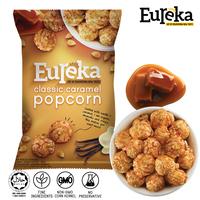Aluminum Center Seal/Pillow Pack 80 Gram Grain Snack - Classic Caramel Popcorn