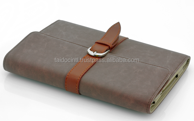 Leather Case with Flip Stand for iPad Mini/ Bet quality by taidoc intl