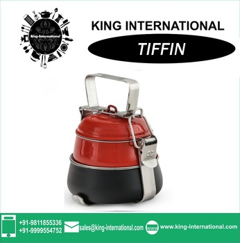 Stainless Steel Clip Tiffin .