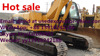 Japan original excavator caterpillar 320C excavator for sale, construction job finished machine for sale