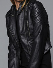 pu leather jacket for adult customs soft thin leather jacket with best quality