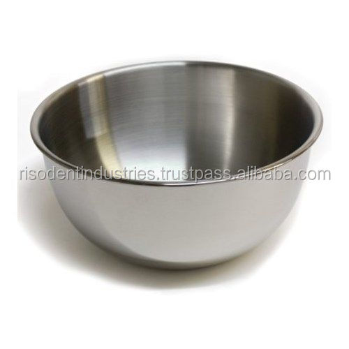 6 Quart Mixing Bowl Stainless Steel Salad Serving Baking New - Surgical Holloware Instruments