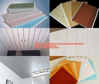 Easy install building material pvc ceiling panel with modern design and technology