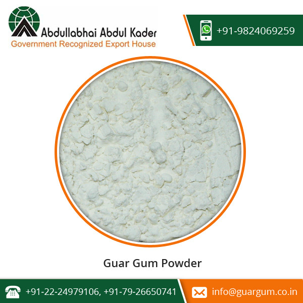 ISO Certified Company Selling Organic Guar Gum for Wholesale Buyers