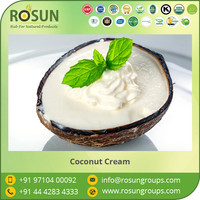 21% - 28% Organic Coconut Cream Available from Bulk Supplier