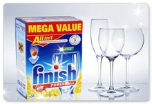 finish Dishwasher Tablets , Finish All-In-One Dishwasher Detergent