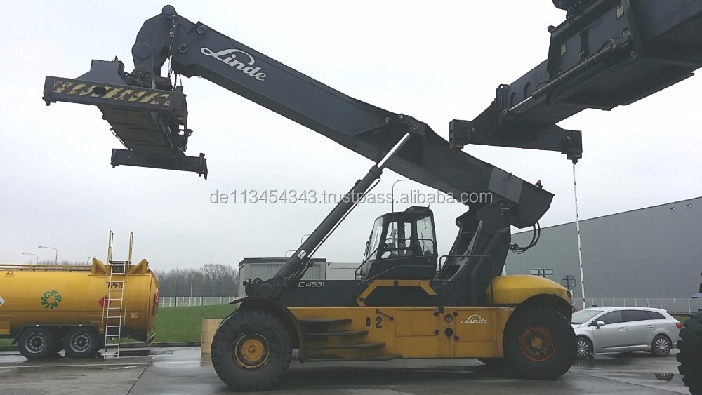 Linde Reachstacker C4531TL 45.000 kg from 2009 D3479