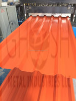Orange Color Profile Sheet Manufacturer in Dubai Ghosh Metal Industries LLC Abu Dhabi Ajman