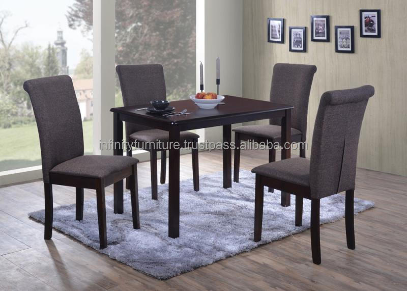 ELEGANT DESIGN DINING SET (1+4)