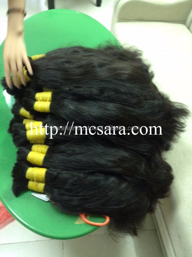 Bulk straight hair extensions - virgin hair from one donor in Viet NAm