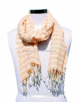 Cotton Summer Stripe Scarves CS3019