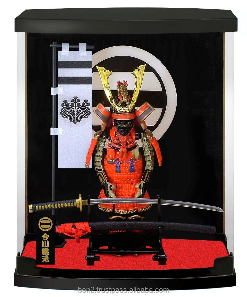 Japanese samurai armor figure for looking for distributor in Singapore dragon skin body armor