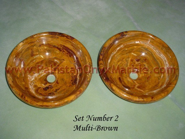 manufacture and wholesale supplier of Natural brown golden Onyx Sinks and basins
