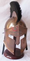 300 King Spartan Helmet, Spartan Helmet With Plume 300 Movie Replica