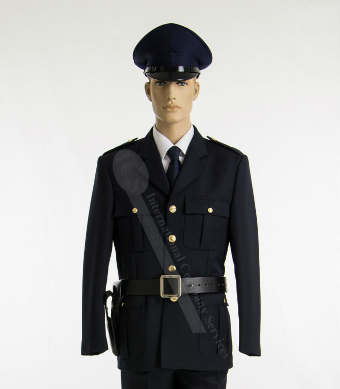 POLICE SECURITY MILITARY DROP JACKET UNIFORM