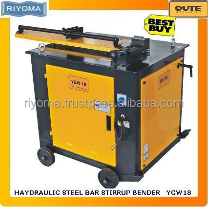 Hydraulic stirrup steel bar bending machine YGW-18