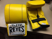 Yellow Color boxing gloves UK