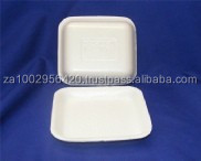 Polystyrene Foam Tray no. 60d (white or black)