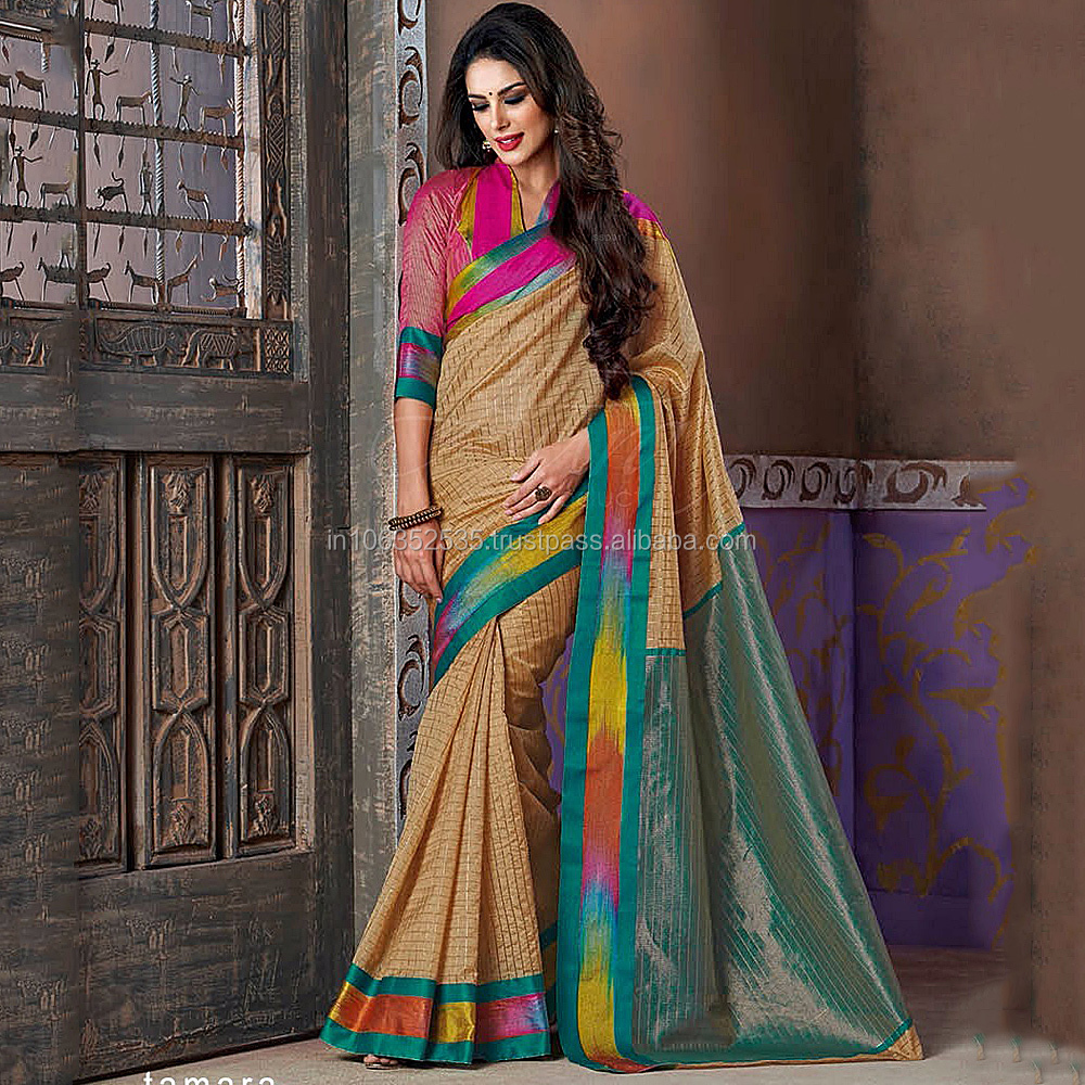 Latest Handloom Cotton Silk Saree