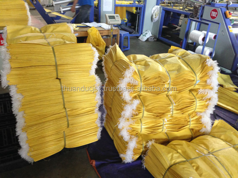 PP woven packaging bag for agriculture products export in Vietnam