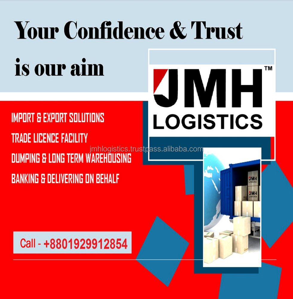 Trading / Shipping / Warehousing Services from China / Bangladesh / India
