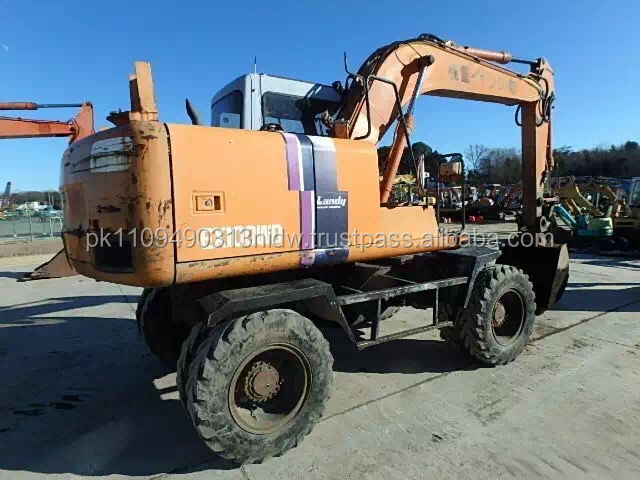 Used Hitachi EX100 Wheel Excavator, Hitachi EX100WD Excavator