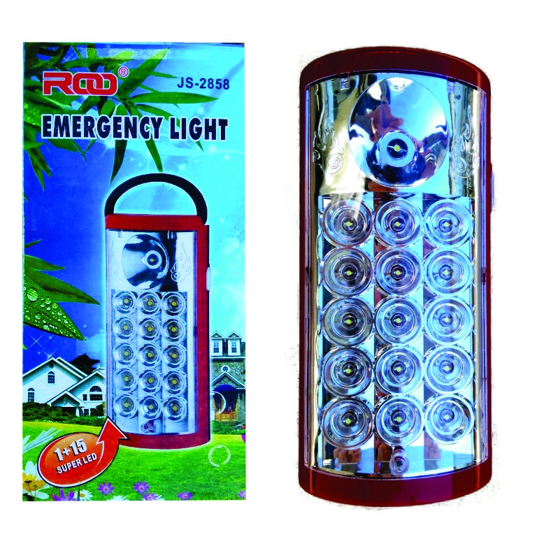 LIGHT RECHARGEABLE 15+1LED