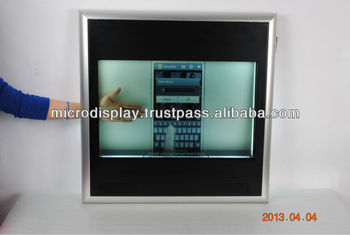 Portable Transprant Display