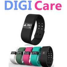 2015 in stock Digicare ERI Smart Bluetooth Bracelet Watch Waterproof Sports LED Touch Screen Thermometer Measuring Heart