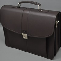 100 Genuine Cow Leather Mens Briefcase