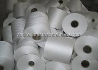 Polyester raw white AA grade yarn