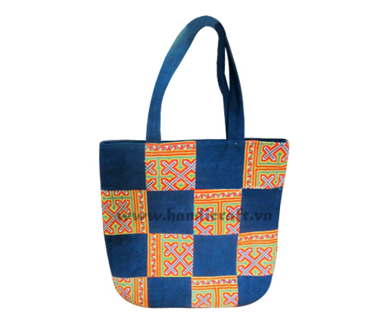 Ethnic Embroidery Handbag -100% Handmade From Vietnam