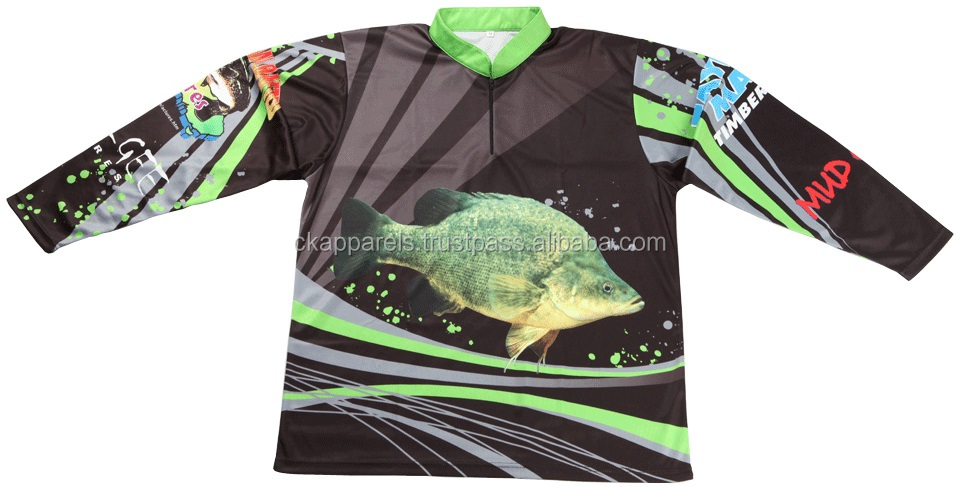 List manufacturers of custom fishing jersey buy custom for Tournament fishing shirts wholesale