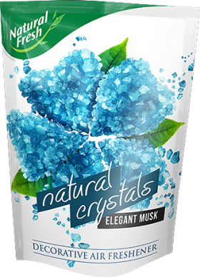 NATURAL FRESH NATURAL CRYSTALS Natural home air freshener