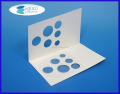 PVC Plastic Slip Blister with Custom Printed Card