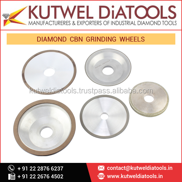 Best Product Diamond CBN Grinding Wheels for All Types of Cutting Works